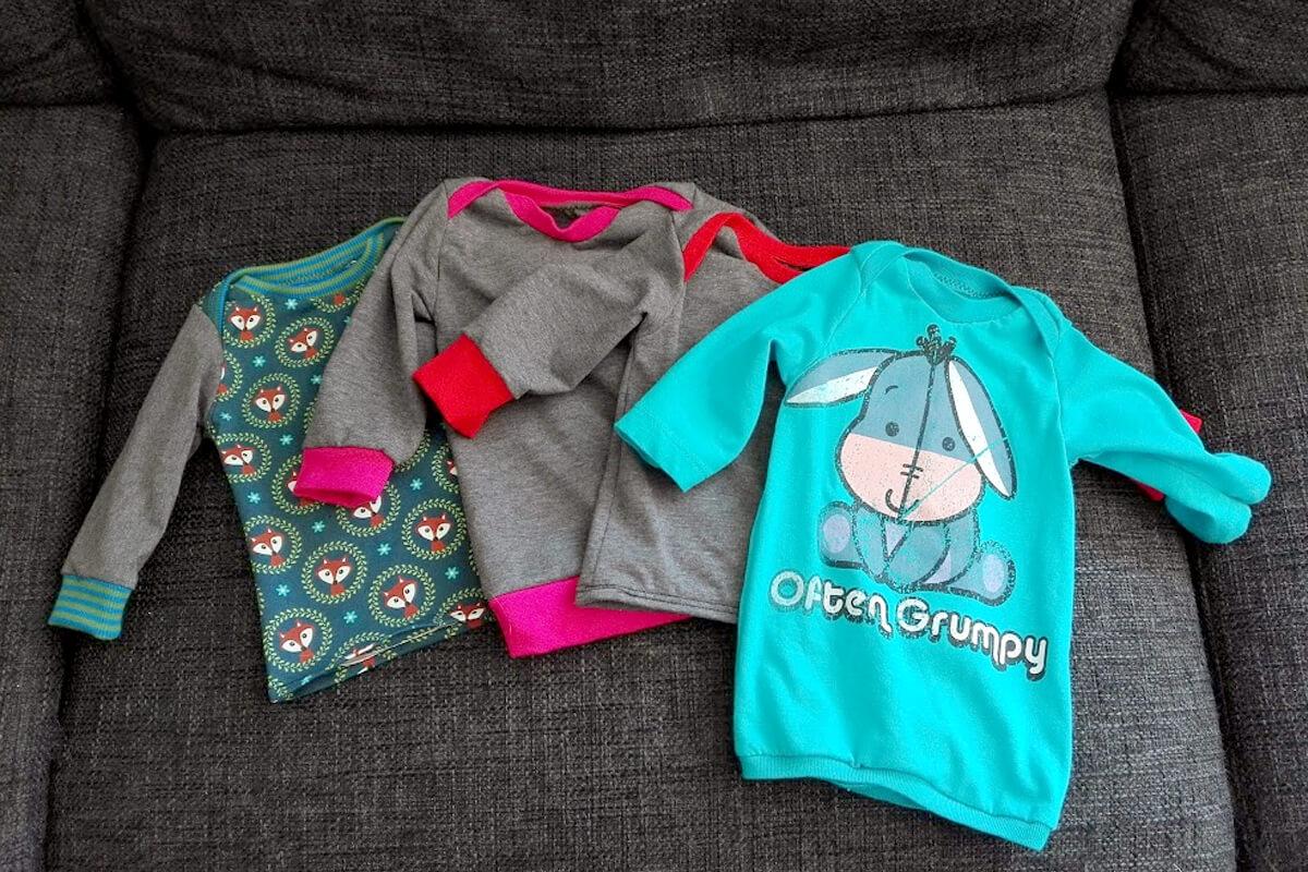 Nähen Fürs Baby Und T Shirt Upcycling Ahmande
